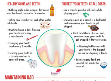 Tips for Clean and Healthy Teeth – Infographic
