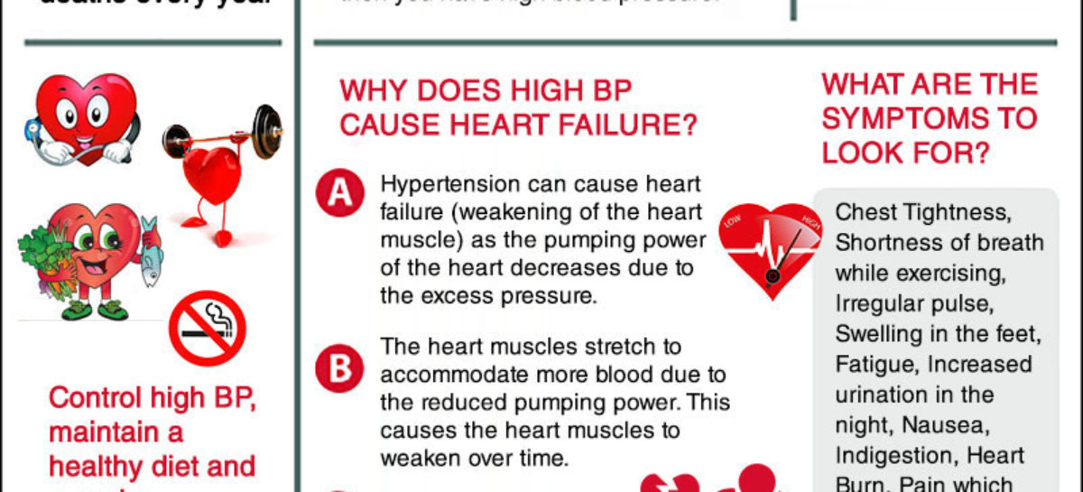 The Relationship between Hypertension and Cardio Vascular Diseases – Infographic