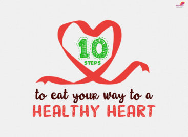 10 steps to eat your way to a healthy heart