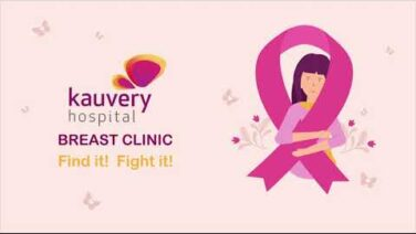 IN Kauvery Breast Clinic : Breast Self Examination