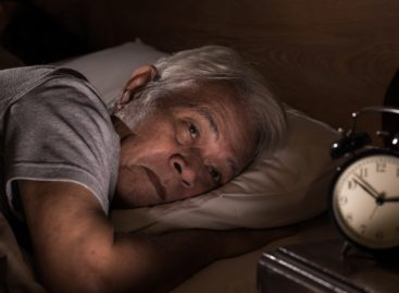 What causes sleep disorders in older adults?