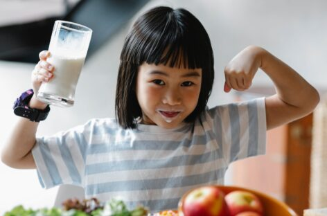 Why is milk important in a child's diet?