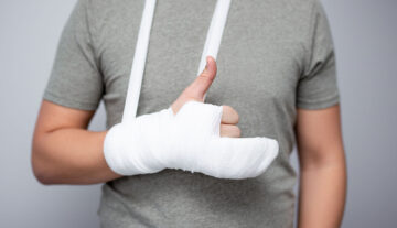 How much time does a broken bone take to heal?
